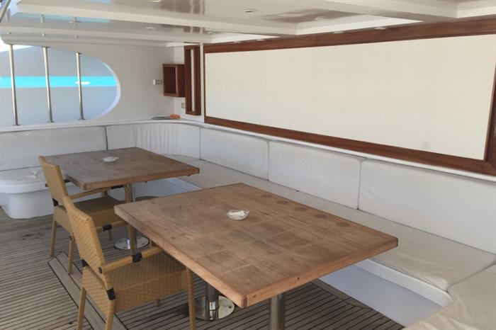 Blue Pearl Liveaboard - space to relax