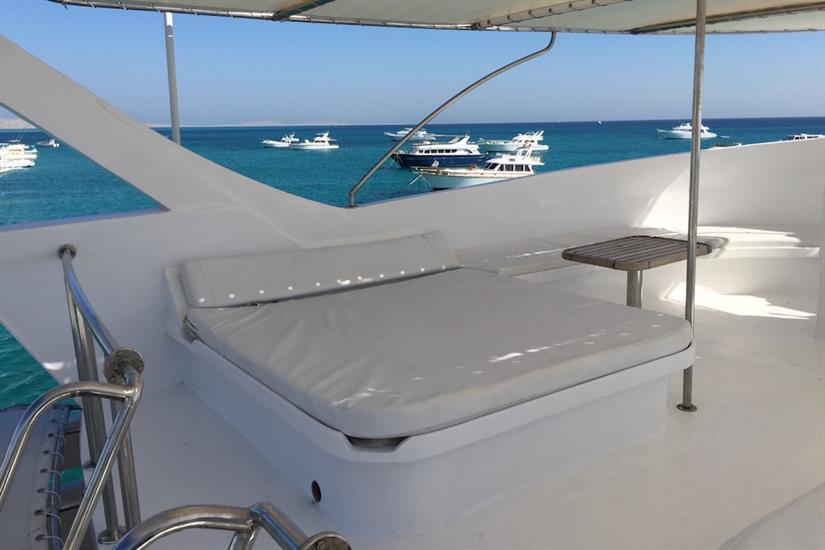Sun deck - Blue Pearl