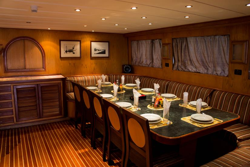 Blue Pearl Liveaboard - Dining Area
