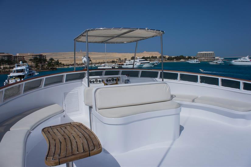 Blue Pearl Liveaboard - Sun Deck