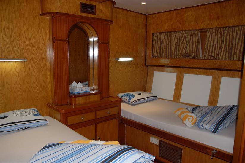 Blue Pearl Liveaboard - Twin cabin