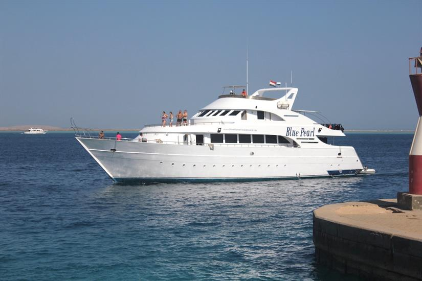 Dive trips in the Red Sea onboard Blue Pearl Liveaboard