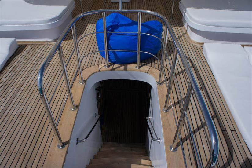 Upper deck - Blue Pearl Liveaboard