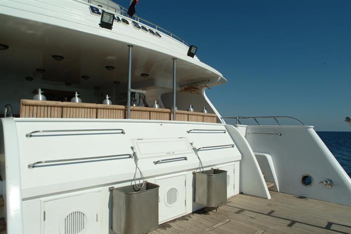Dive platform - Blue Seas Liveaboard