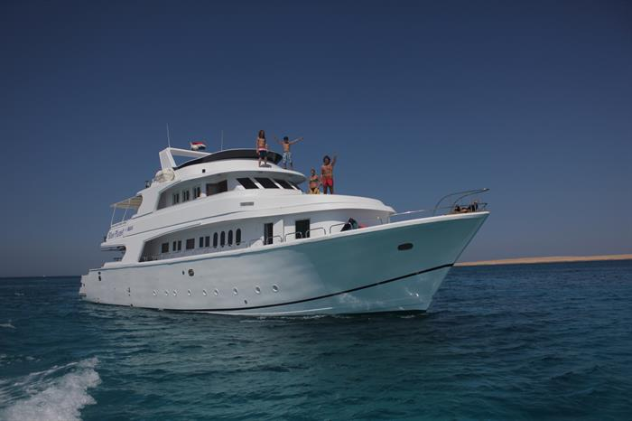 Cruise the Red Sea on Blue Planet 1
