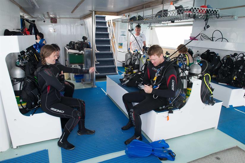 Spirit of Freedom Liveaboard Dive Deck