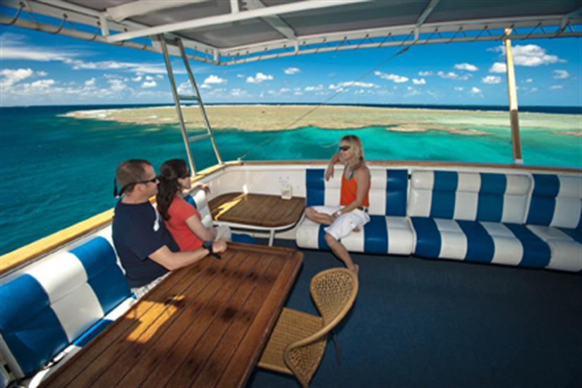 Top Deck Relaxing - Spirit of Freedom Liveaboard