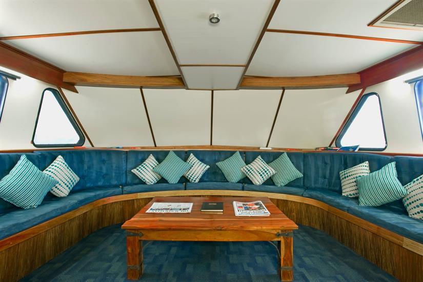 Comfortable Lounge Area - Spirit of Freedom Liveaboard