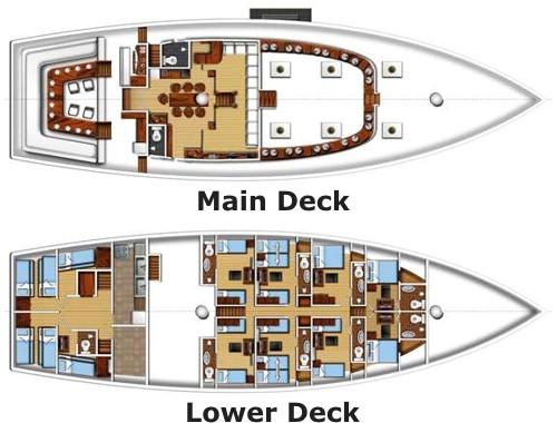 Fiji Siren floorplan