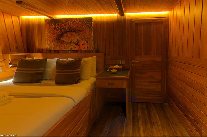 Cabin 2 with double bed - Damai I