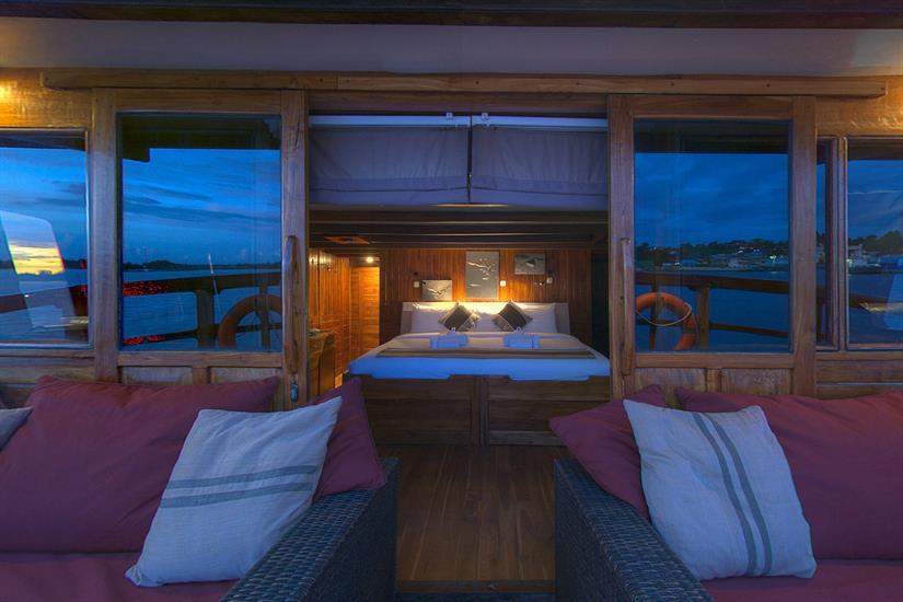 Private balcony to Master Cabin 6 - Damai I