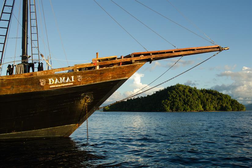 Damai I in Raja Ampat Indonesia