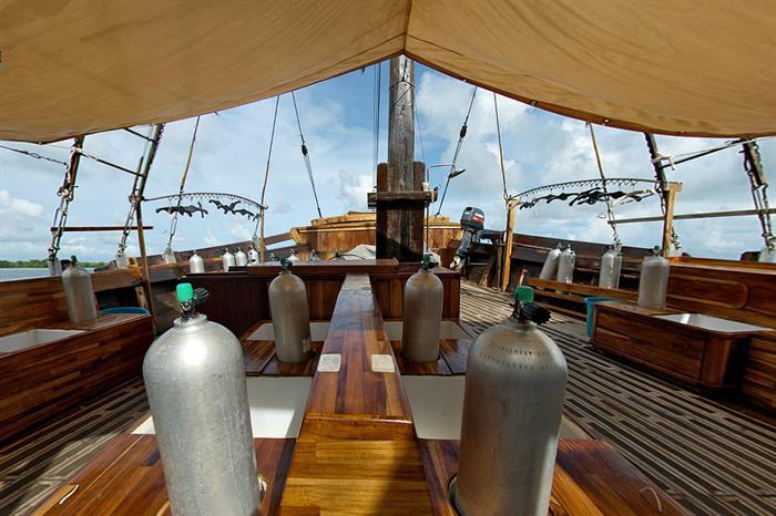 Large dive deck - Damai I Indonesia