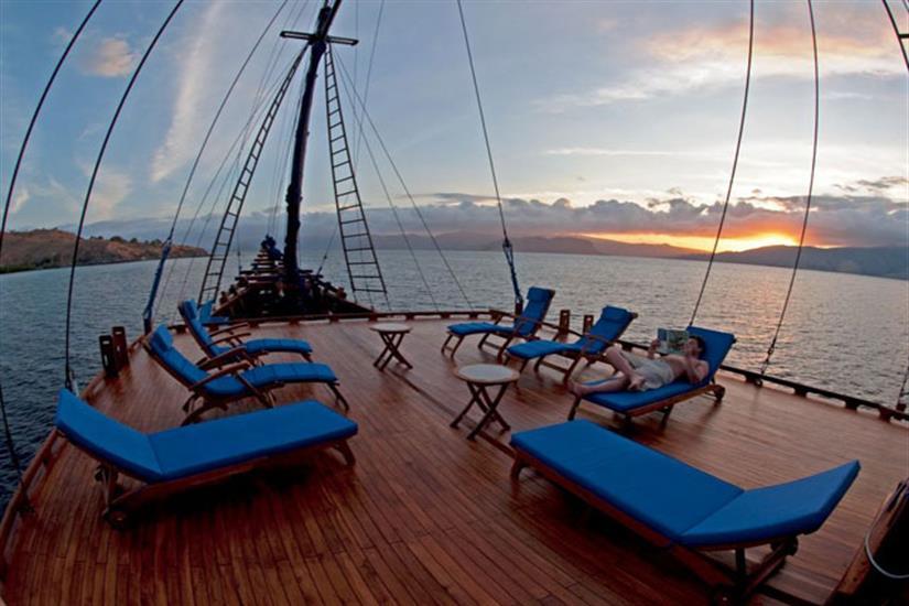 Sun Deck - Aurora Liveaboard