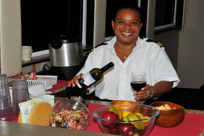 Food Service onboard Belize Aggressor III Liveaboard