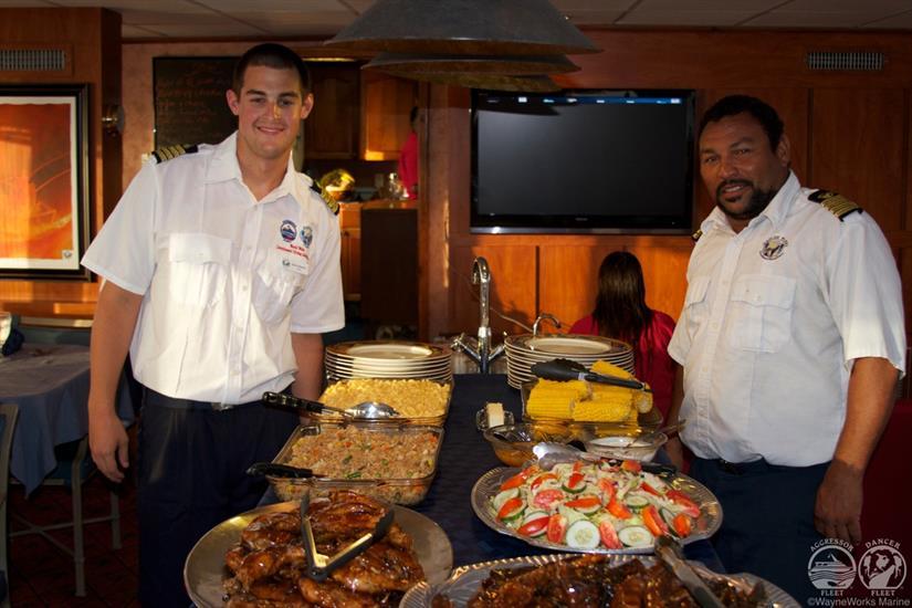 Belize Aggressor IV Liveaboard Cuisine