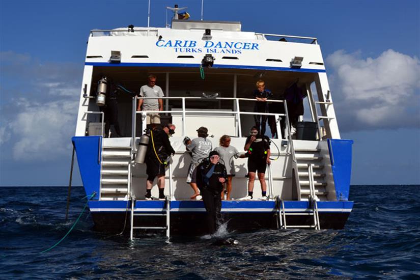 Bahamas Aggressor Dive Deck
