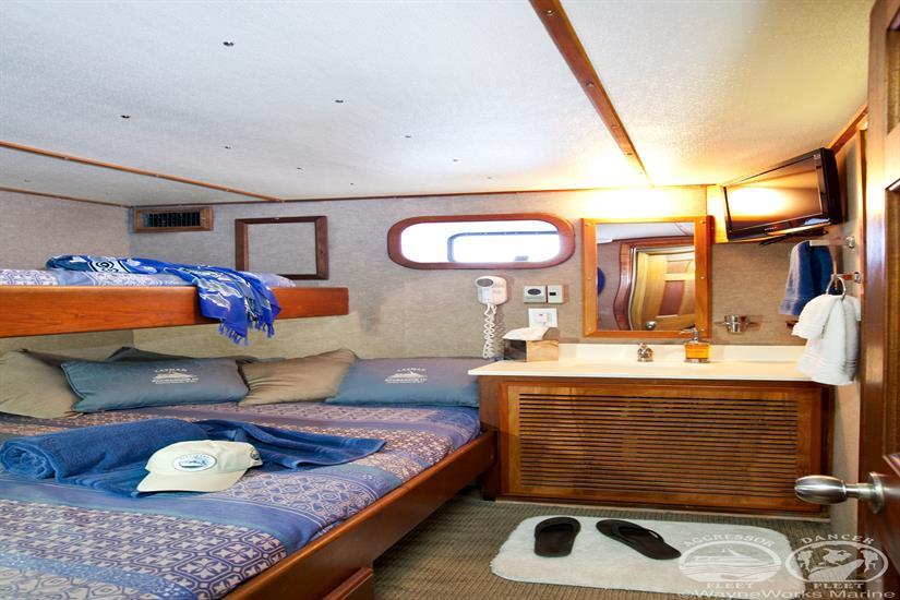 Cayman Aggressor IV Liveaboard Deluxe Cabin
