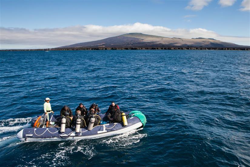 Galapagos Aggressor III Liveaboard Dive Tender
