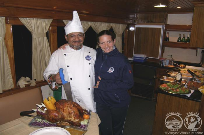 Galapagos Aggressor III Liveaboard Delicious Food