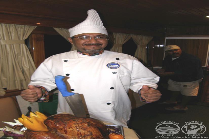 Galapagos Aggressor III Liveaboard Meals