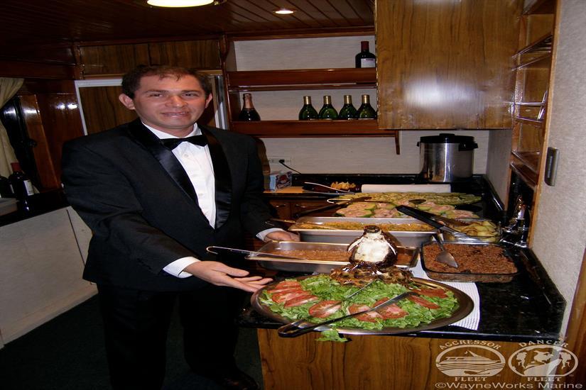 Delicious meals aboard Galapagos Aggressor III Liveaboard