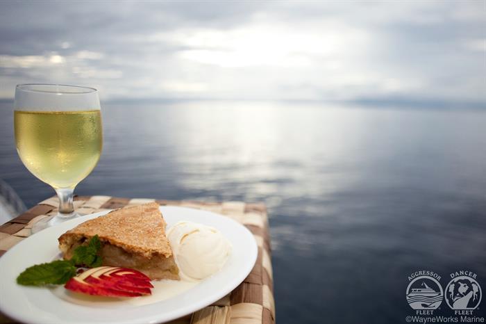 Cuisine aboard the Fiji Aggressor Liveaboard