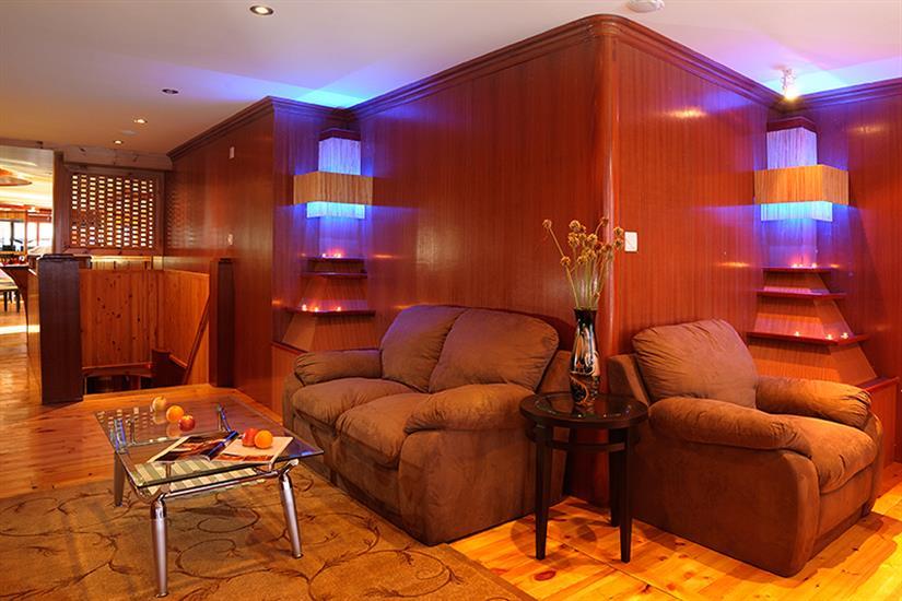 MV Orion Liveaboard Indoor Saloon