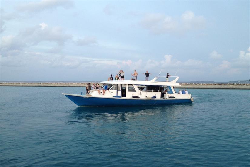 MV Orion Liveaboard Diving Dhoni