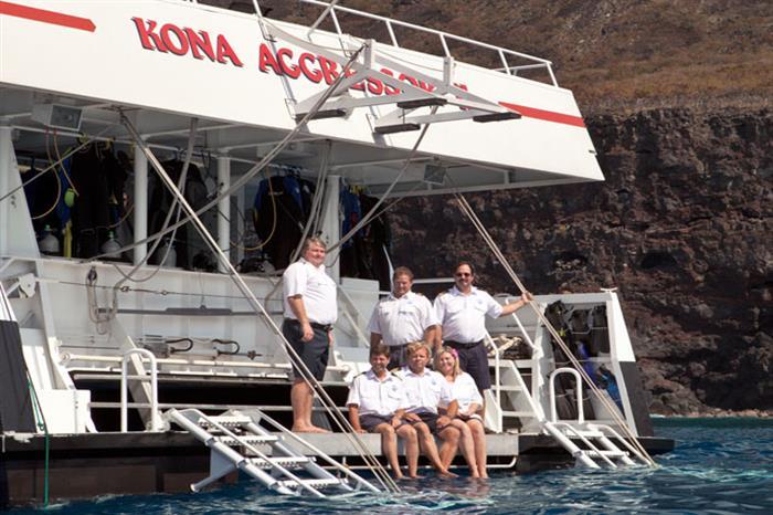 Kona Aggressor II Liveaboard Crew