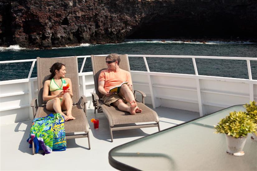 Kona Aggressor II Liveaboard Sun Deck