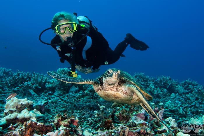 Kona Aggressor II Amazing Hawaii Diving