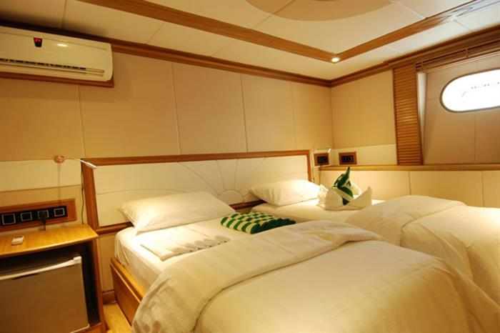 Single Cabin - MV Virgo Liveaboard