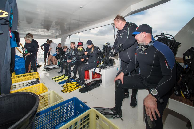 MV Leo Liveaboard Diving Dhoni