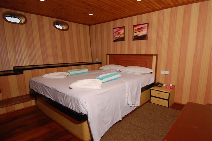 Upper Deck Room - Leo Liveaboard Maldives