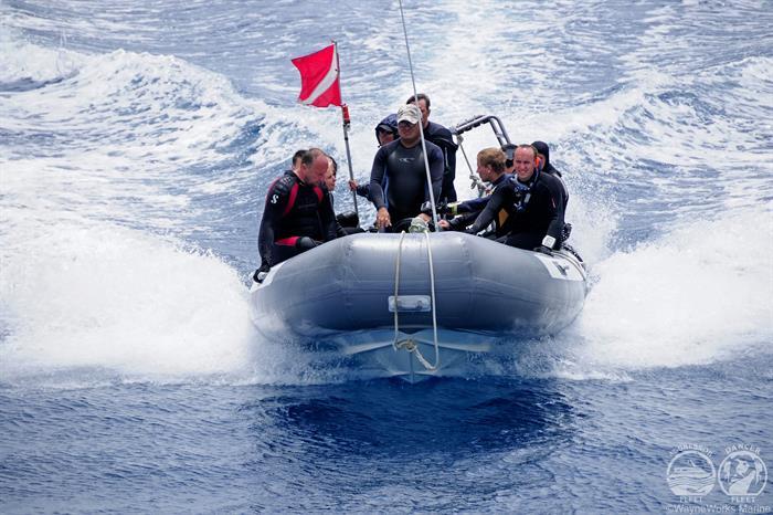 Okeanos Aggressor Liveaboard Dive Tender