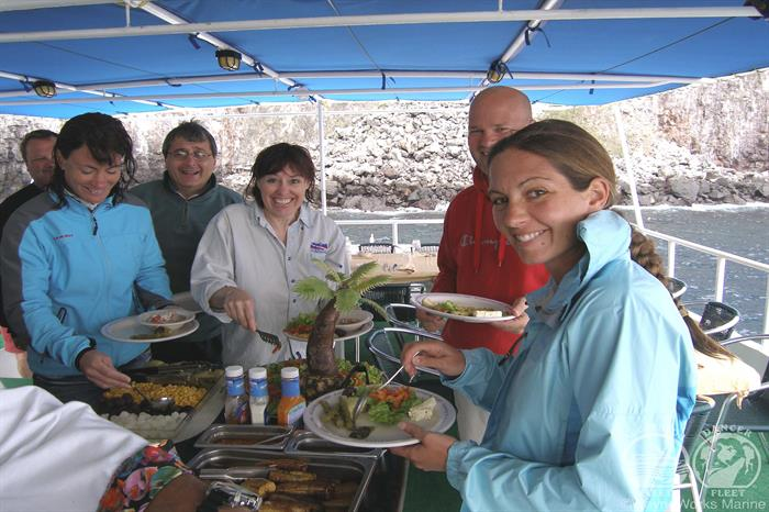 Okeanos Aggressor Liveaboard Cuisine