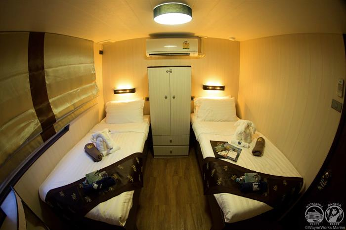 Thailand Aggressor Liveaboard Deluxe Stateroom