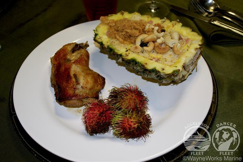 Thailand Aggressor Liveaboard Delicious Cuisine