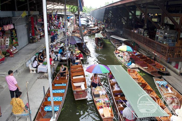 Thailand Aggressor Liveaboard Floating Market