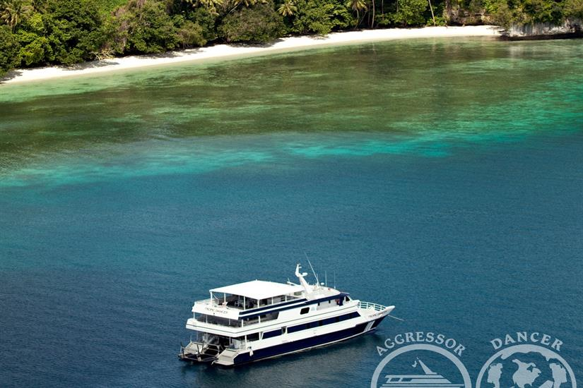 Beautiful Palau with Rock Islands Aggressor Liveaboard