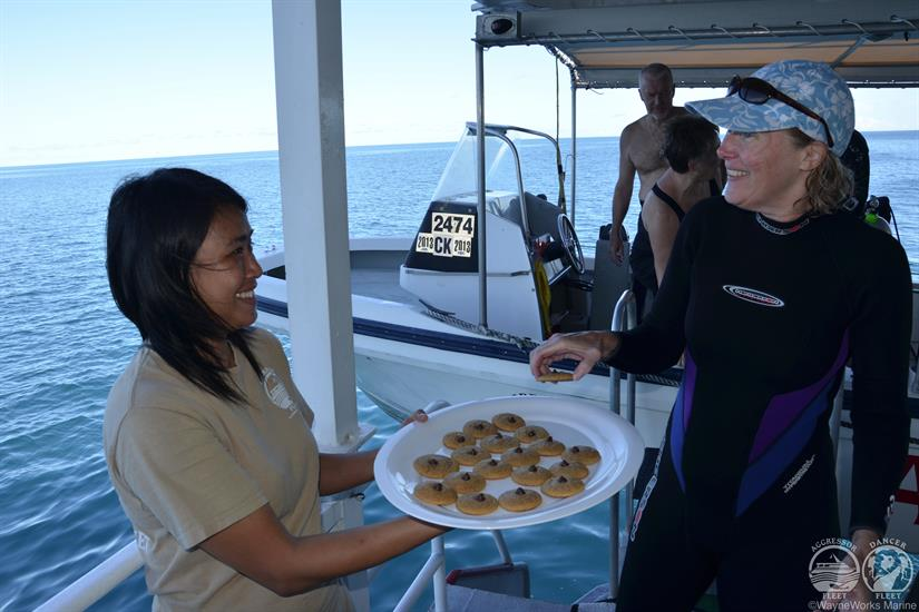 Rock Islands Aggressor Liveaboard After Dive Snacks