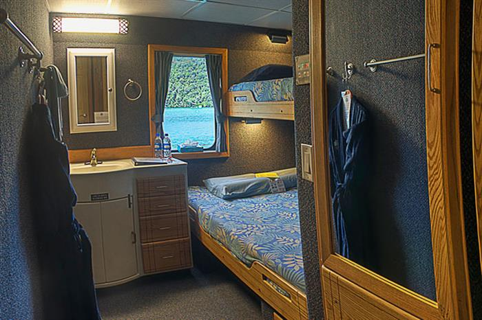 Rock Islands Aggressor Liveaboard Deluxe Stateroom