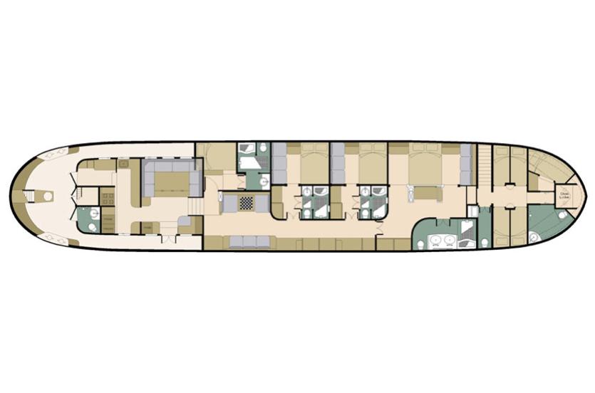 Adelaar Deck Plan floorplan