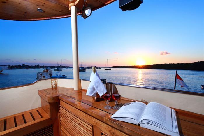 Stunning Komodo sunsets