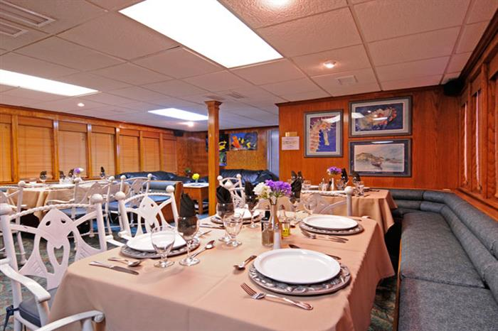 Dining Room - Okeanos Aggressor II