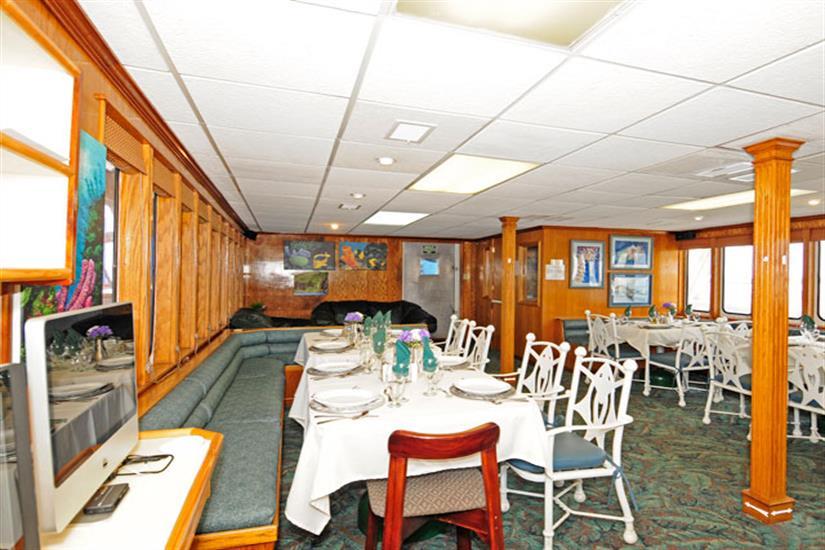 Dining Area - Okeanos Aggressor II