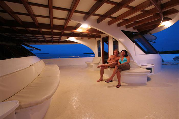 Top deck  - Amba Liveaboard Maldives