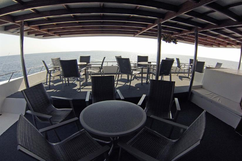 Outdoor seating area - Amba Liveaboard