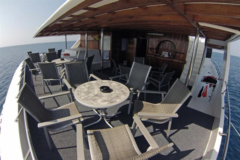 Outdoor relaxation - Amba Liveaboard